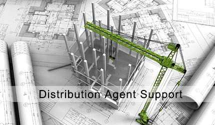 distribution agent support