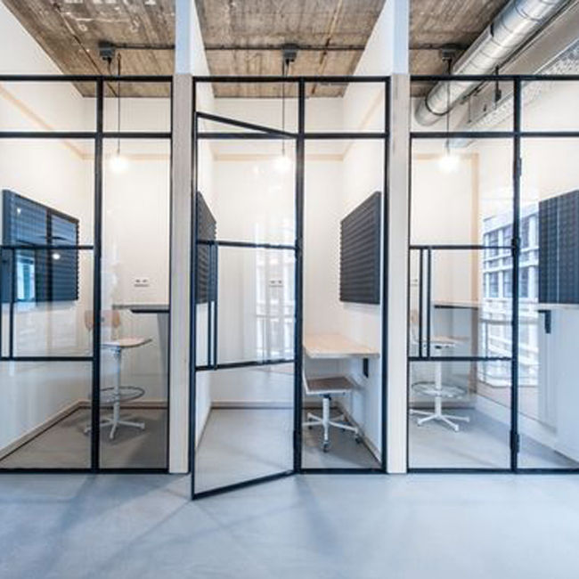 Customized Office partition glass design-051478413