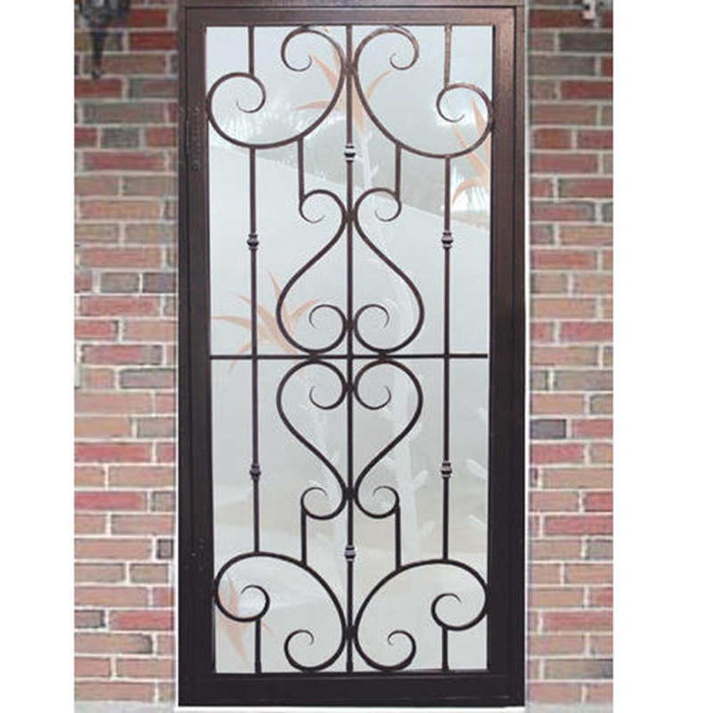 Wrought iron window modern windows from Prima construction-BK063
