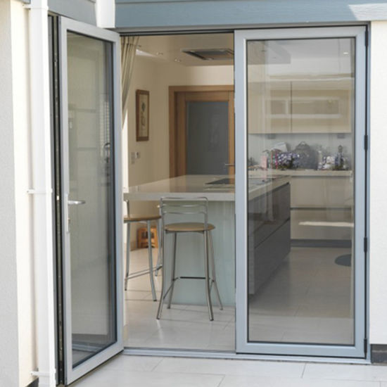 Sky-PRIMA tempered safety glass Aluminium casement door