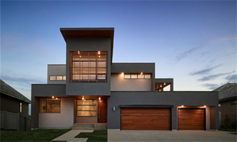 solid wood Garage door-5